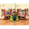 NOVUM® Bear Shelving - Teddy Bear Book Display