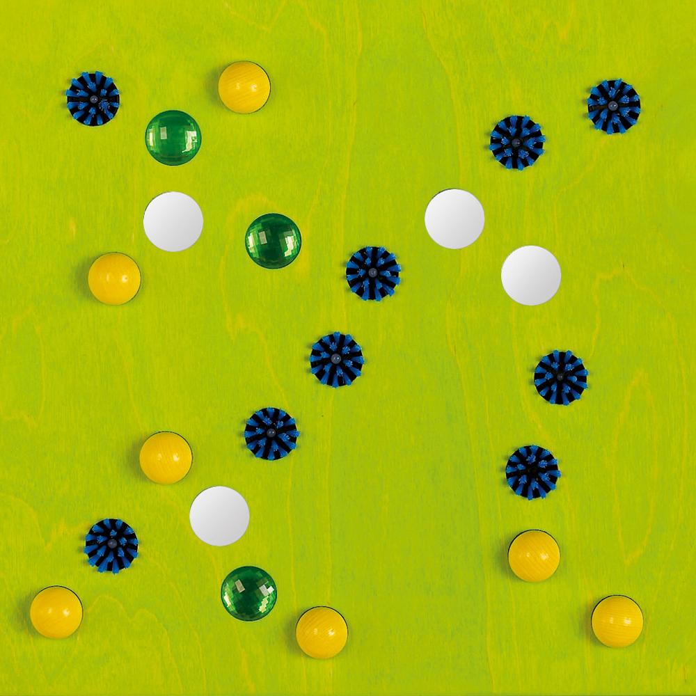 HABA® Sensory Wall Panels - Brushes, Balls, and Mirrors