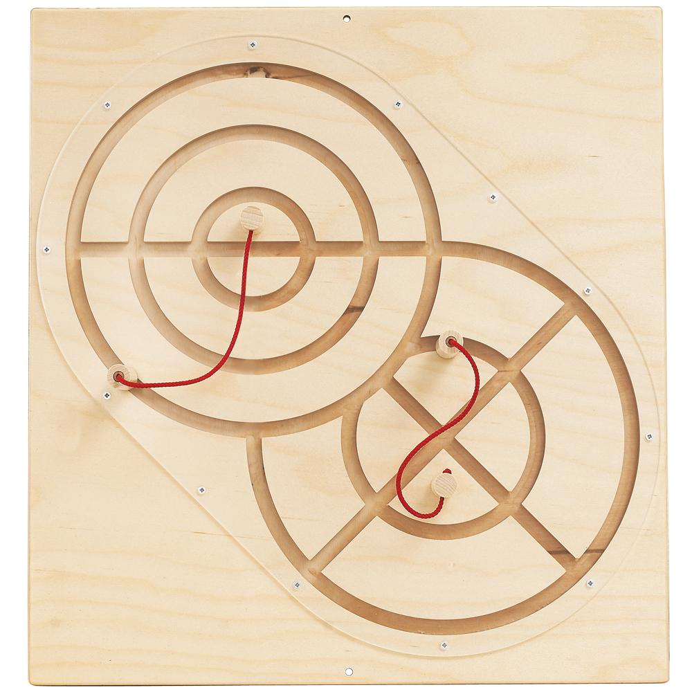 HABA® Sensory Wall Panels - Magnetic Track + 2 Wands