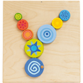 HABA® Sensory Wall Panels - Special Effects Turning Discs