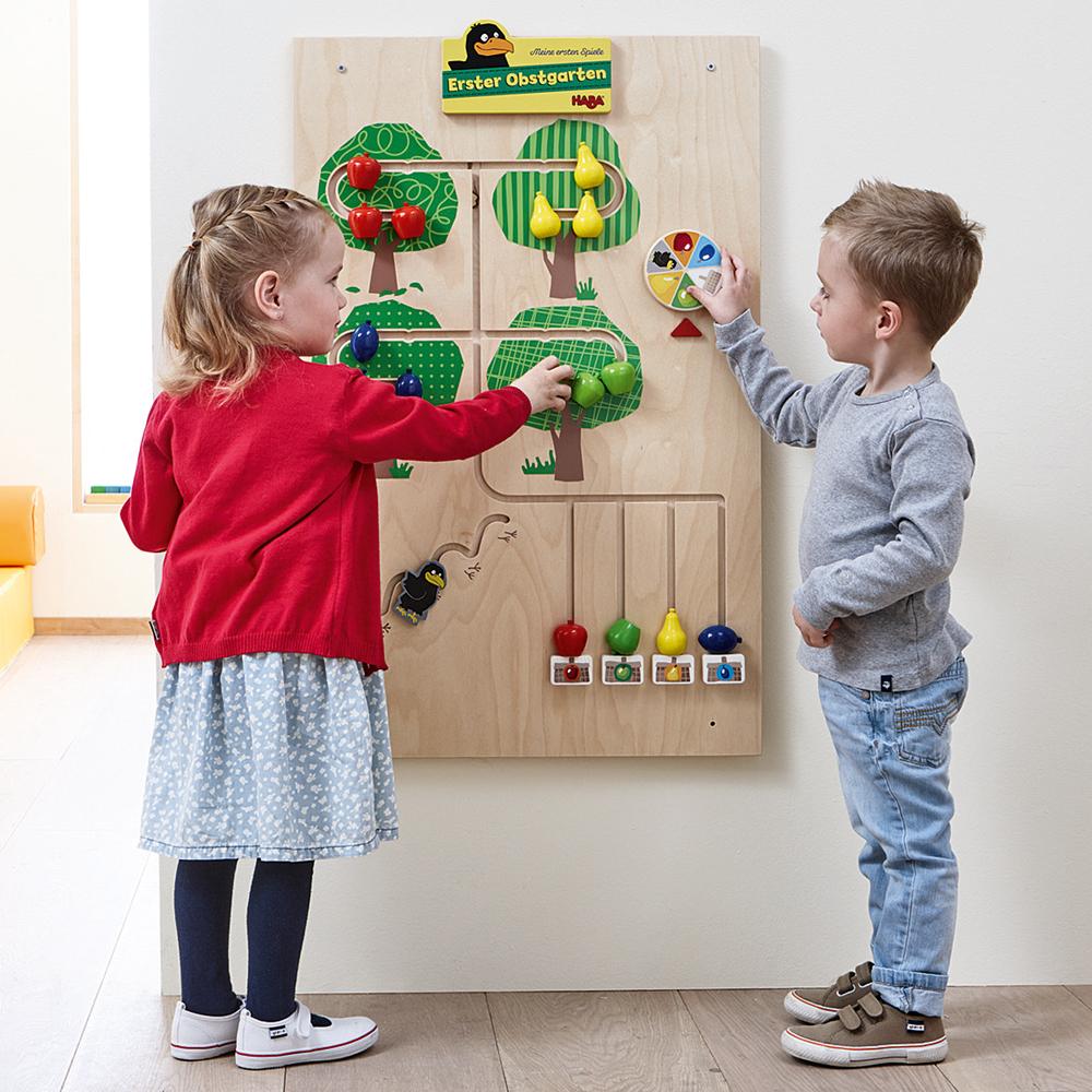 HABA® Interactive Learning Walls - Orchard Wall