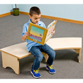 Gressco®  Reading Retreat Bench