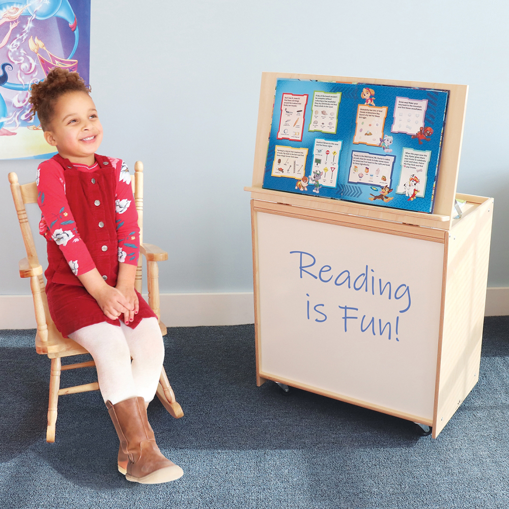 Whitney Brothers™ Big Book Display with Write & Wipe