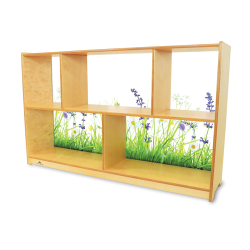 "Whitney Brothers®  Nature View Acrylic Back Cabinet 30""H"