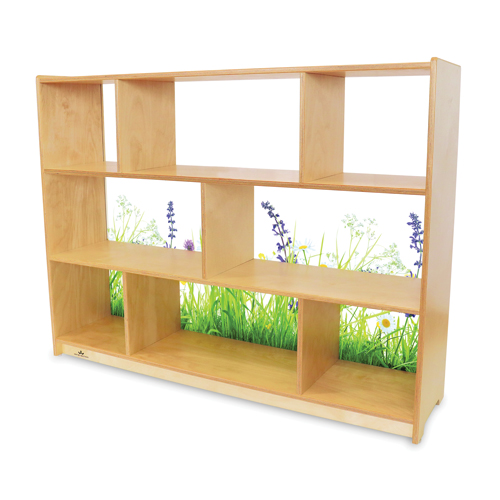 """Whitney Brothers®  Nature View Acrylic Back Cabinet 36""""H"""