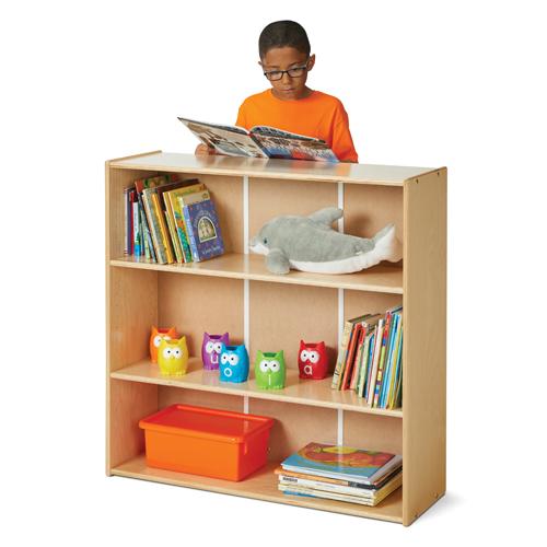 Jonti-Craft® Young Time® Adjustable Shelf Bookcases - 2 Shelf