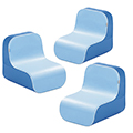 WESCO® Tic Tac Low Chair Kit