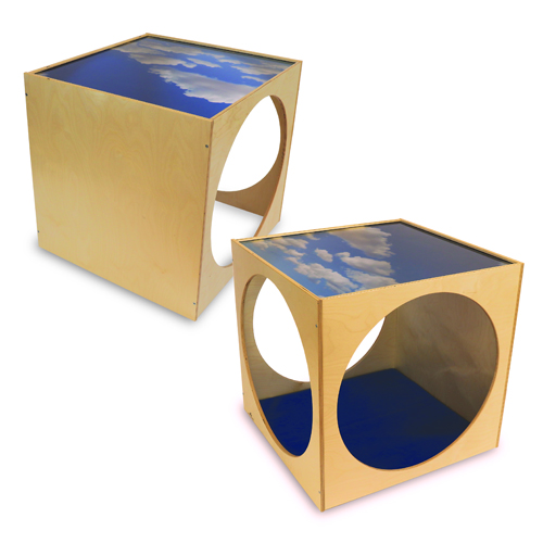 Whitney Brothers® Plexi Top Play House Cube