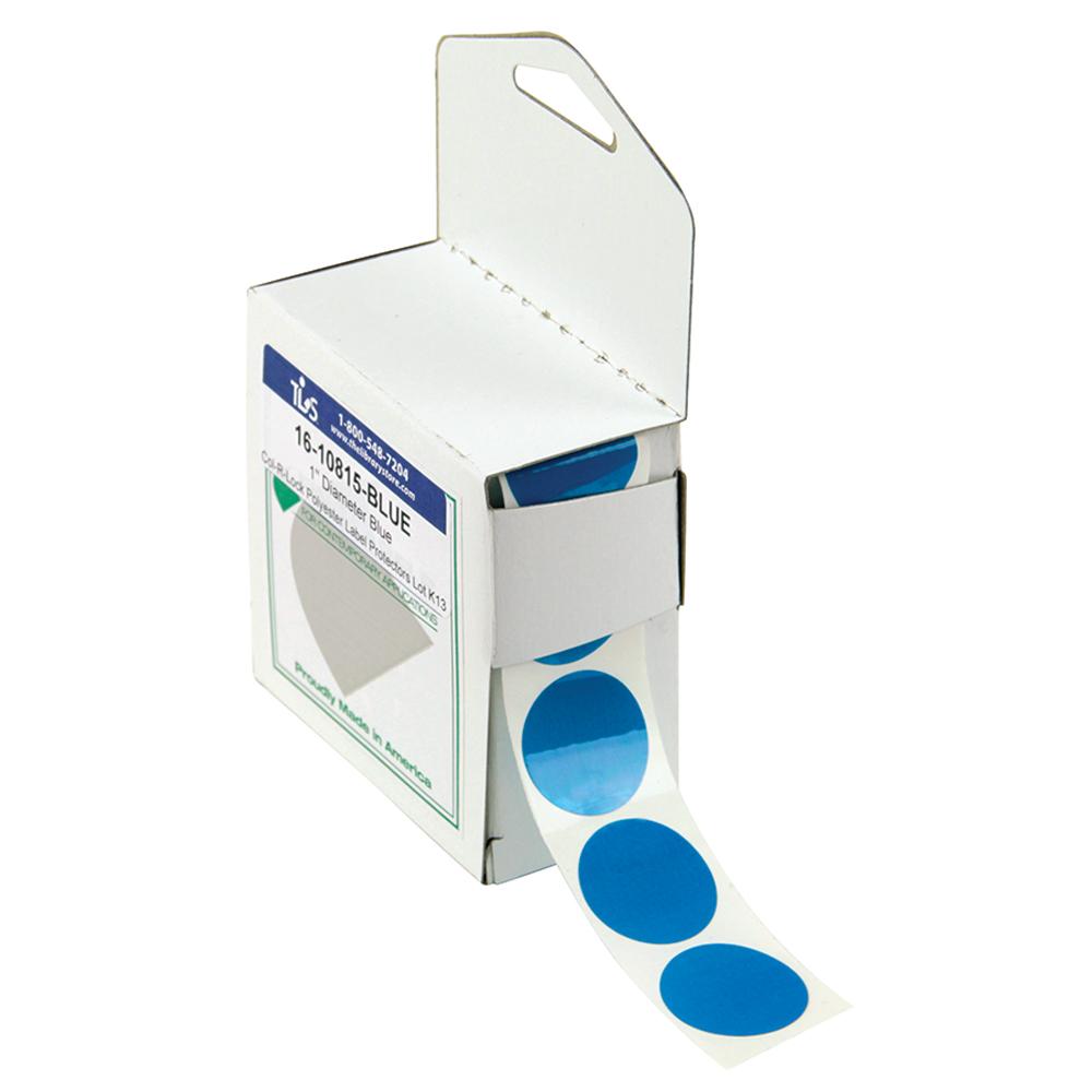 Col-R-Lock Tinted See-Thru Label Protectors - Dots
