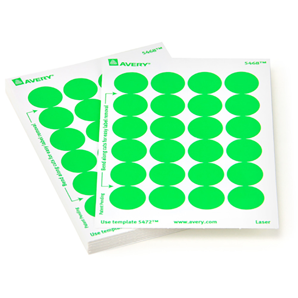Color Coding Labels Avery Color Coding Dots In Sheets