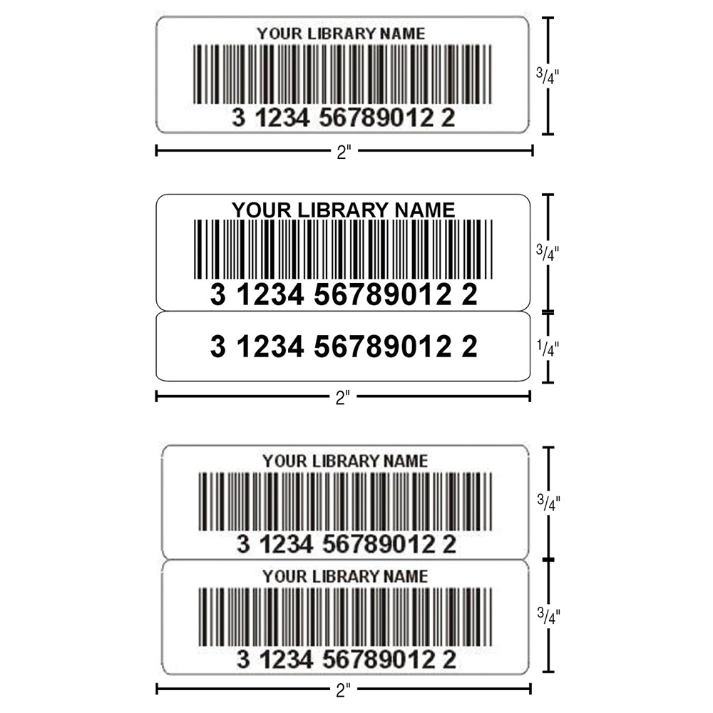 TLS Thermal Transfer Synthetic Bar Code Labels