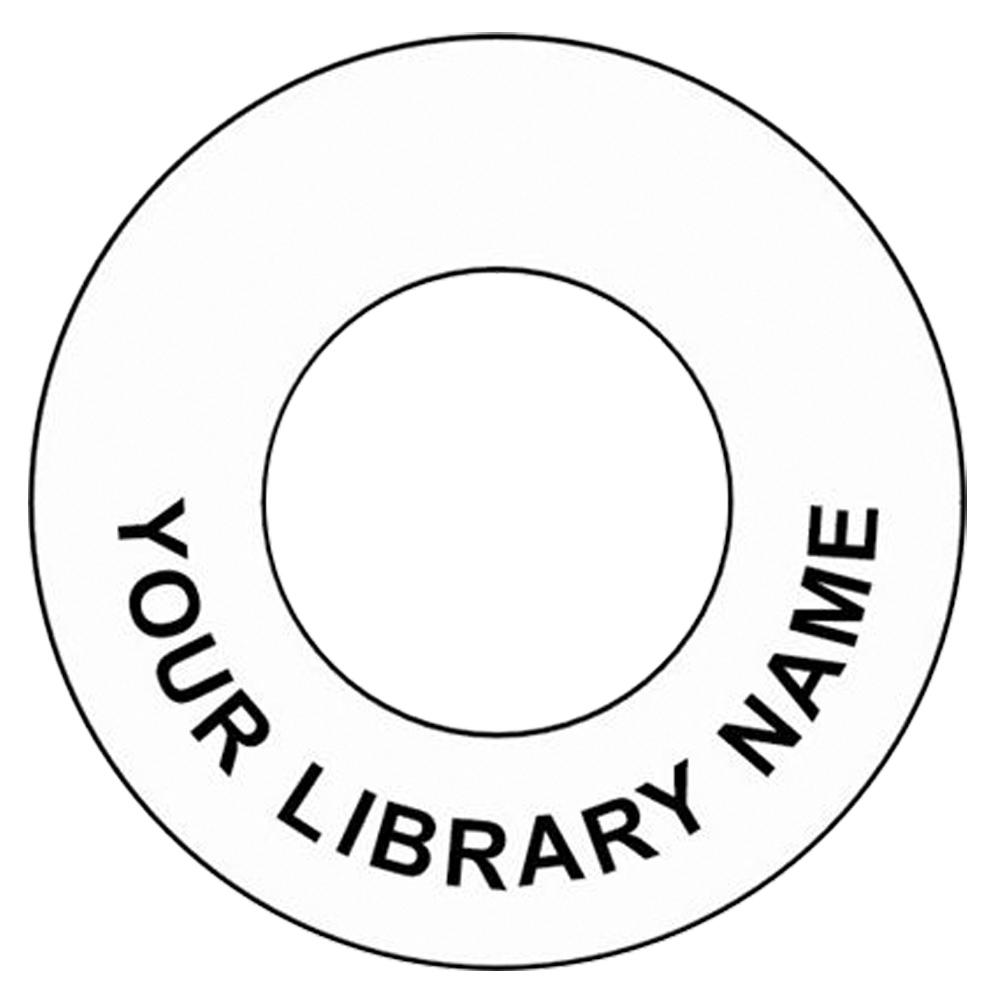 CD-DVD Hub Labels- Custom Imprinted