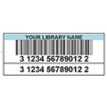 TLS™ Digital Laminated Colored Bar Code Labels - Doubles