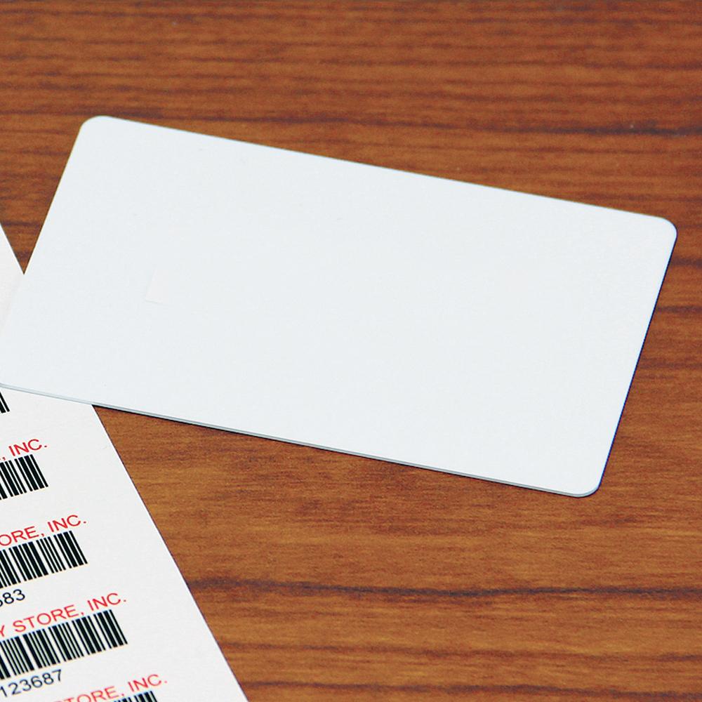 Plain White Patron Cards, 100/Pkg