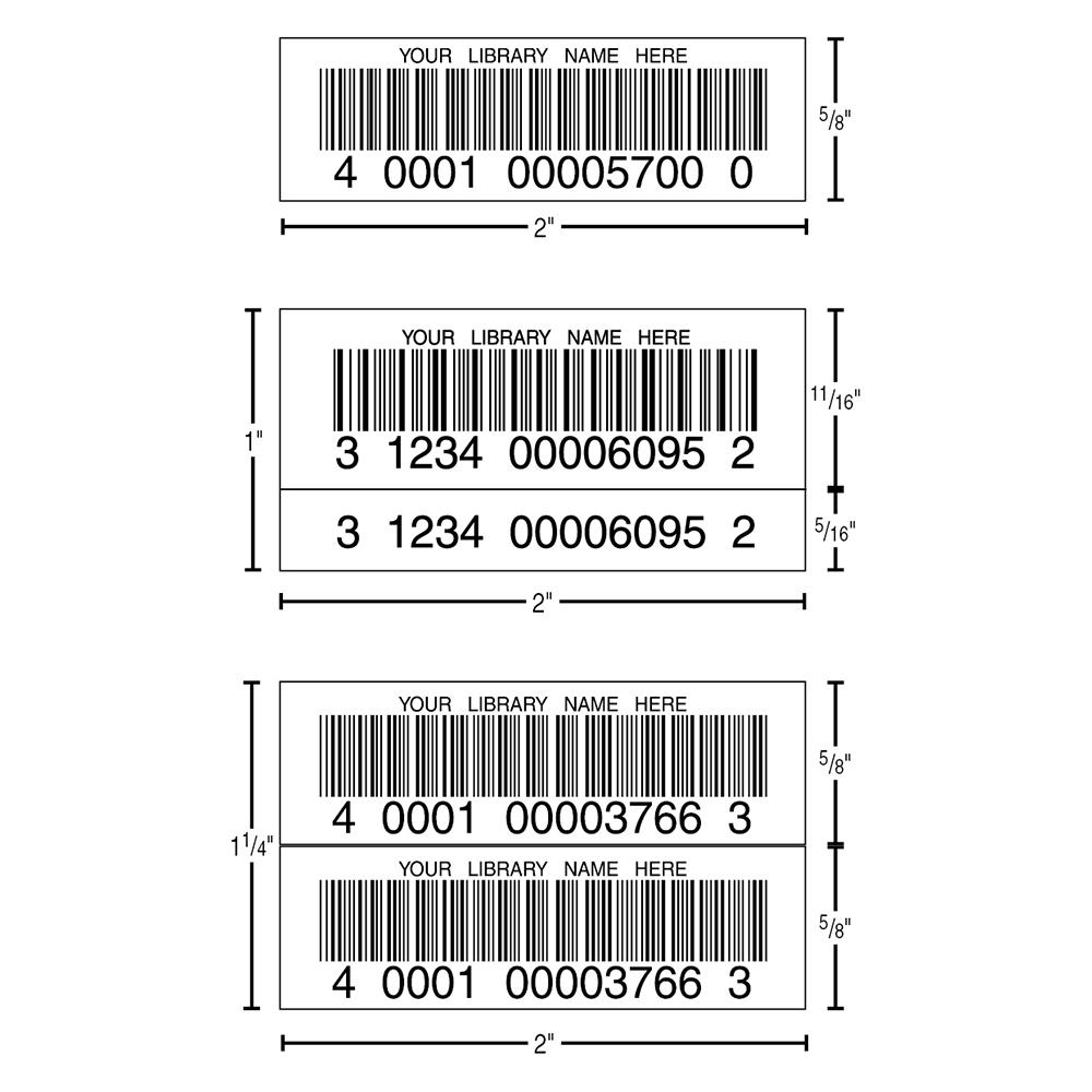 Data2 Digital 3-Mil Polyester Bar Code Labels
