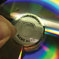 Data2 CD-DVD Clear Hub Labels