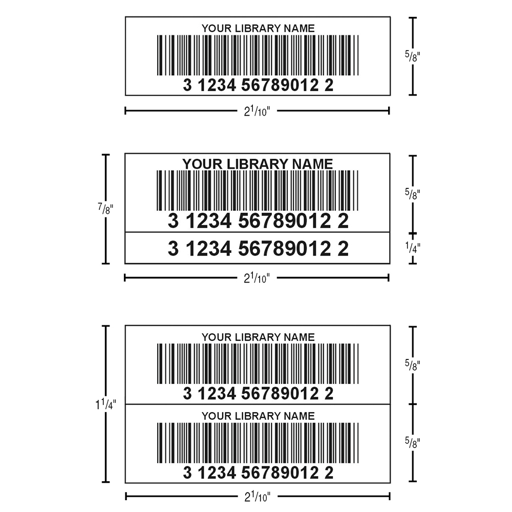 TLS™ Digital Laminated Synthetic Bar Code Labels