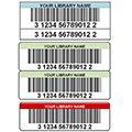 TLS™ Digital Laminated Colored Bar Code Labels