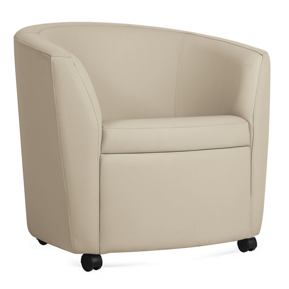 GLOBAL Sirena™ Lounge Seating - Lounge Chair with casters
