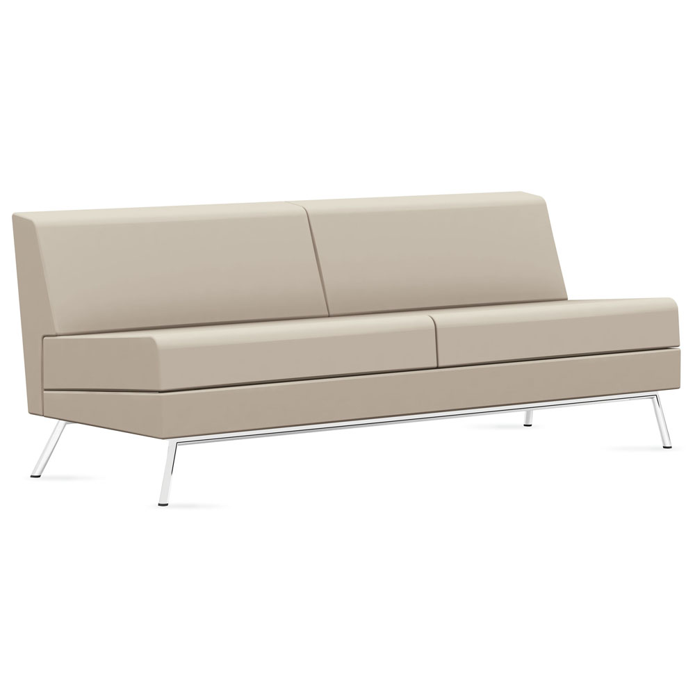 GLOBAL Wind™ Linear Lounge Seating - Armless Sofa