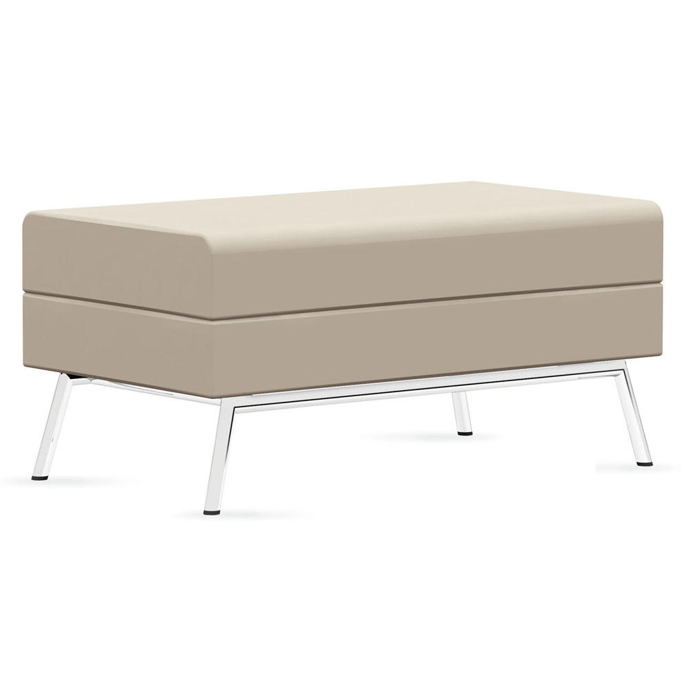 GLOBAL Wind™ Linear Lounge Seating - Ottoman