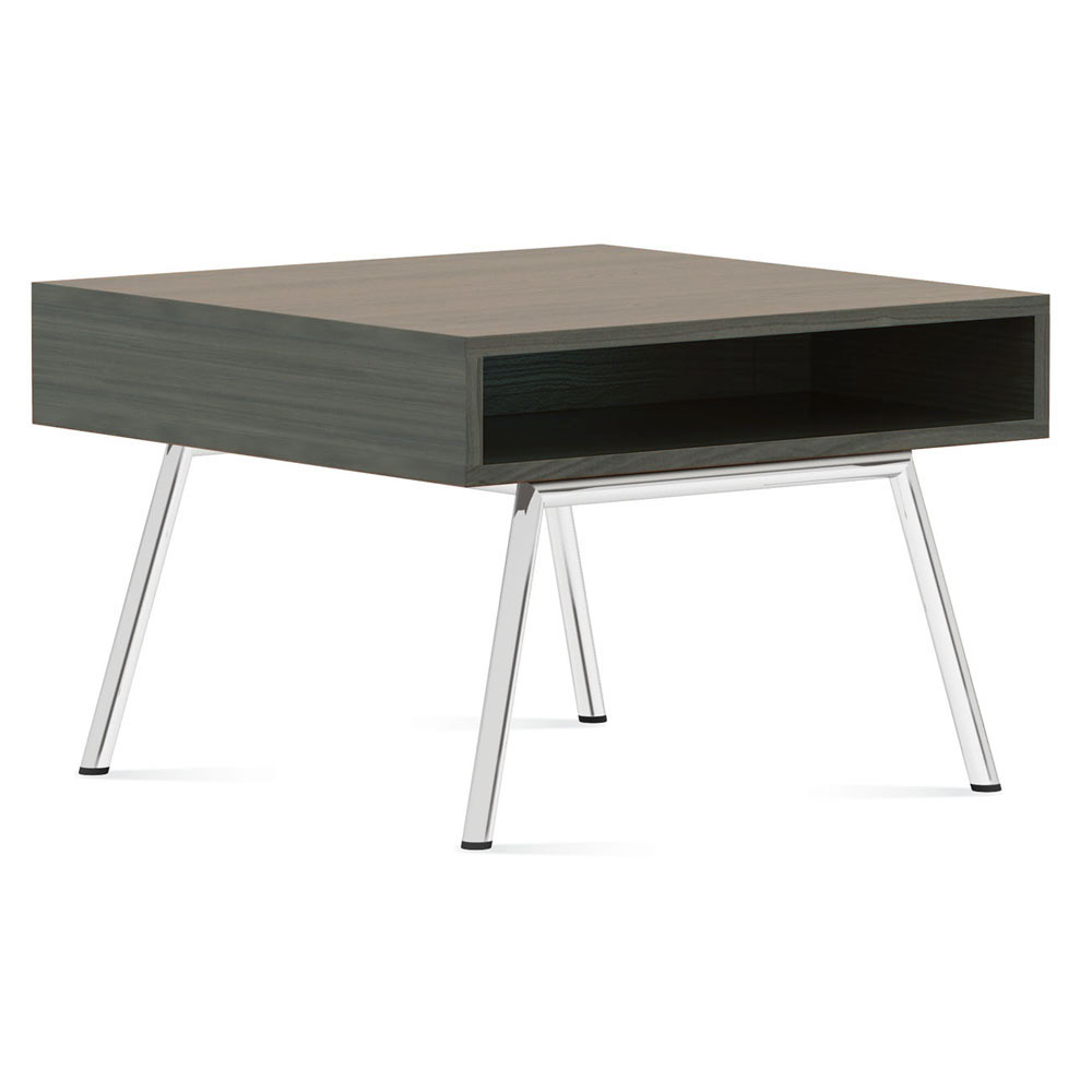 "GLOBAL Wind™ Linear Lounge Seating - 25"" Square Side Table"
