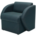 HPFI® STEPS Modular Lounge Seating - Arm Chair, Leather