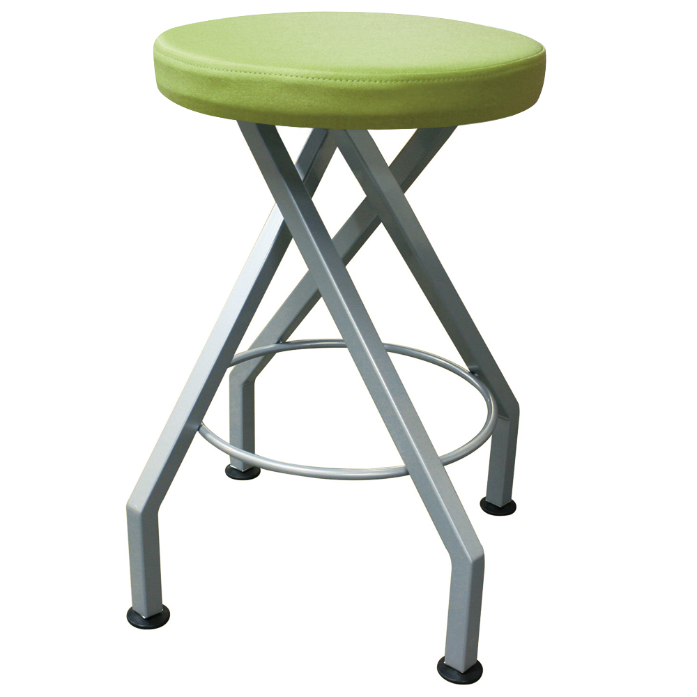 mediatechnologies™ Carlo Stool - 25 in., 4 Post Stool with Glides