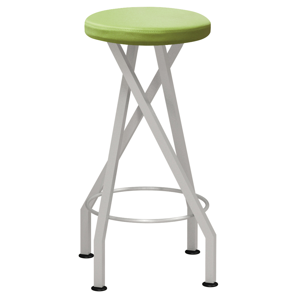 mediatechnologies™ Carlo Stool - 31 in., 4 Post Stool with Glides