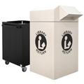 KINGSLEY 50 K-Series Collection Bin w/ 1 Cart