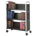 SAFCO® Scoot™ Book Truck - 3 Sloped Shelves