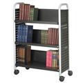 SAFCO® Scoot™ Book Truck - 3 Sloped Shelves