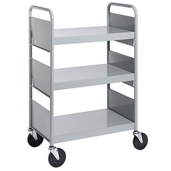 Main Item Numbers Biofit Book Truck 3 Flat Shelves