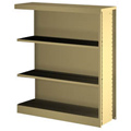 tennsco™ Bookcase Library Shelving - 42H x 38W x 12D Adder