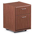 Russwood® Rover Mobile Box/File Pedestal