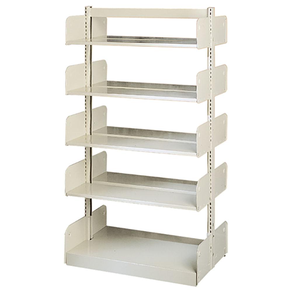"estey® Steel Cantilever Library Shelving - 66""H x 20""D Double-Face"