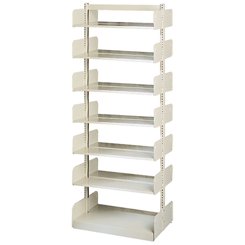 "estey® Steel Cantilever Library Shelving- 90""H x 24""D Double-Face"
