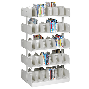 estey® Steel Cantilever Picture Book Library Shelving - 66