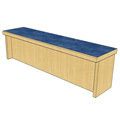 Atlantis™ Modular Wood Circulation Desk - 36
