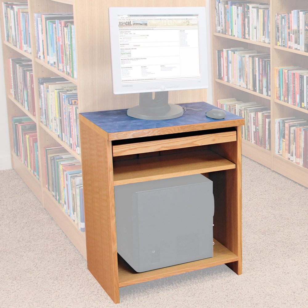 Atlantis™ On-Line Monitor Stand - Sit-Down