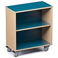 Russwood® Palette™ Straight Mobile Shelving - 36