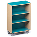 Russwood® Palette™ Straight Mobile Shelving - 48