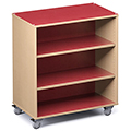 Russwood® Palette™ Straight Mobile Shelving - 42