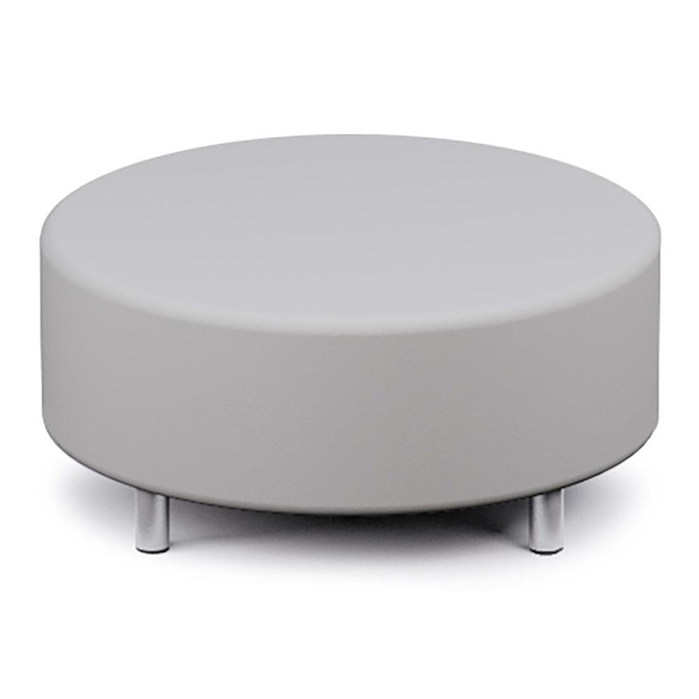 Russwood® Palette™ Soft Lounge Seating - Round Ottoman, Fabric