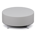 Russwood® Palette™ Soft Lounge Seating - Circle Ottoman