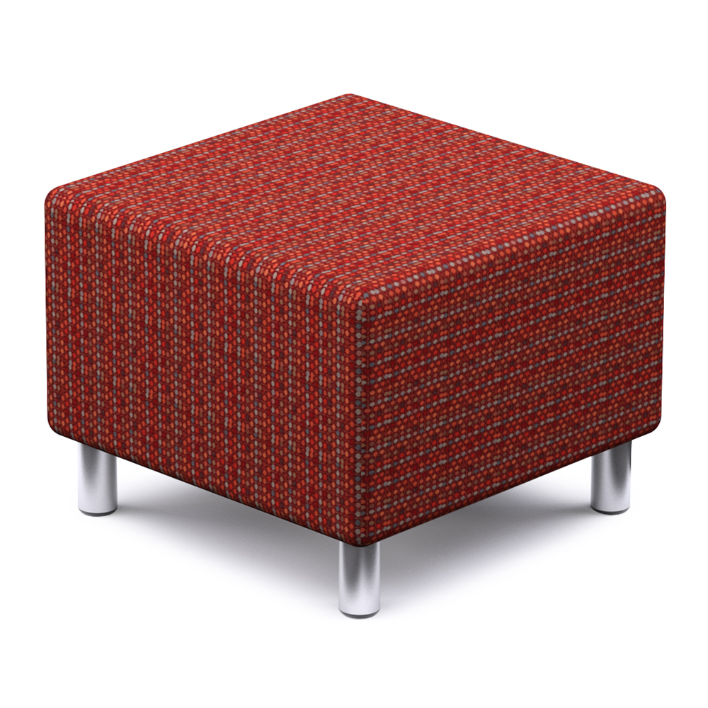 Russwood® Palette™ Soft Lounge Seating - Square Seat, Fabric