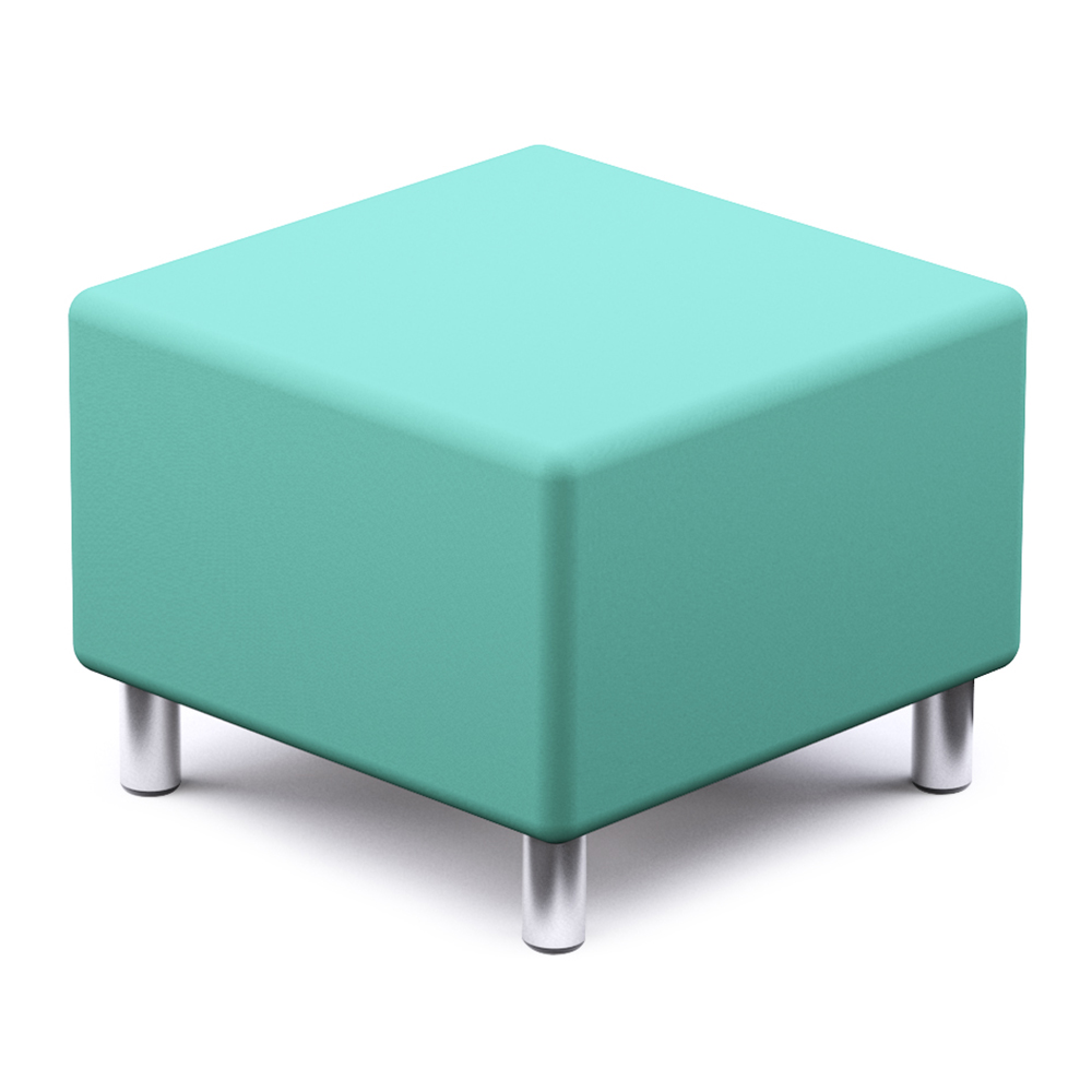 Russwood® Palette™ Soft Lounge Seating - Square Seat, Vinyl