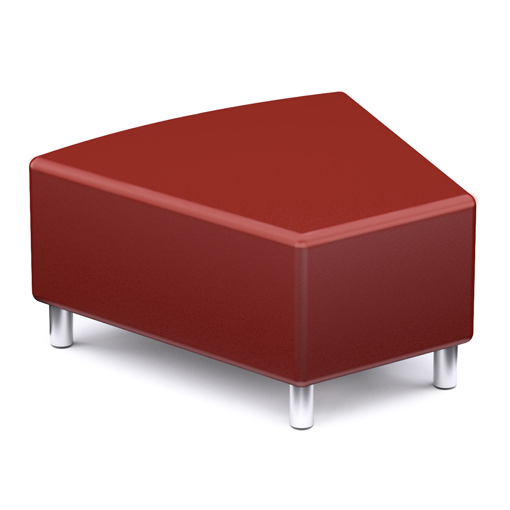 Russwood® Palette™ Soft Lounge Seating - 30° Wedge Seat, Vinyl