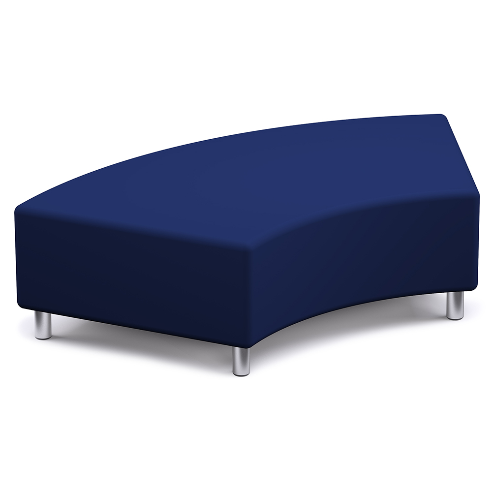 Russwood® Palette™ Soft Lounge Seating - Wedge Bench, Vinyl