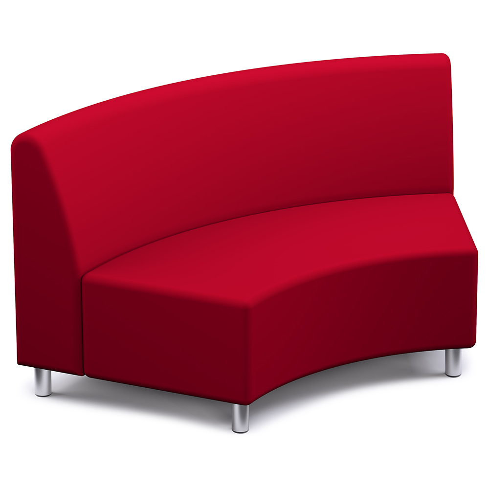 Russwood® Palette™ Soft Lounge Seating - 60° Wedge Chair, Vinyl